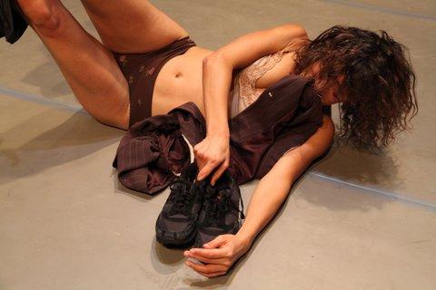 Il vuoto apparente di Yasmeen Godder