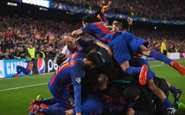 Ottavi di ritorno Champions League